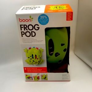 NEW Boon Frog Pod toy organizer for tub